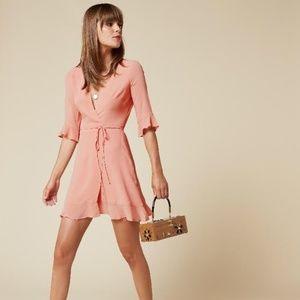 NWT Reformation Wren dress - Peach